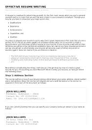 Effective resume writing.  http://www.tutorialspoint.com//effective_resume_writing.htm Copyright ...
