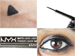 nyx matte liquid liner review swatches