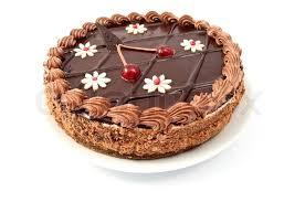 chocolate cake white background. Delighful White In Chocolate Cake White Background