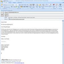 Sample Cover Letter For Job Resume Unique Sample Email Cover Letter