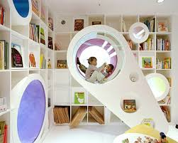 Reading Room In House Ultra Modern Kids Playroom Nunapinparty Modernfamilyhome Pn