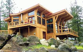 house plans with a view. Custom Post And Beam Horizon View Home In Leavenworth WA. House Plans With A