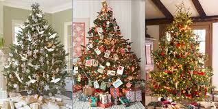 Image Santa Claus Decorated Christmas Trees Good Housekeeping 30 Decorated Christmas Tree Ideas Pictures Of Christmas Tree