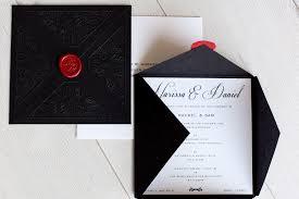 Envelope Wedding The Black Leaf