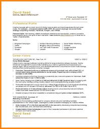 11 Social Media Manager Resume Job Apply Form