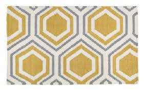 beautiful yellow and white area rug for your floor decoration yellow and white grey lattice