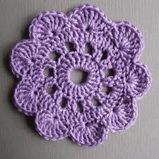 Free Patterns Crochet Interesting Big Flower Coaster Free Crochet Pattern Crochet Land