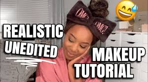 an unedited realistic makeup tutorial without fancy filming equipment andrea renee