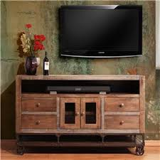 solid wood tv console. Perfect Solid International Furniture Direct Urban Gold 62 To Solid Wood Tv Console A