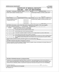 Letter Of Medical Necessity Form Inspiration Sample Medical Necessity Form 48 Free Documents In PDF