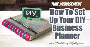 how to set up your diy business planner includes tips and ideas for dividers