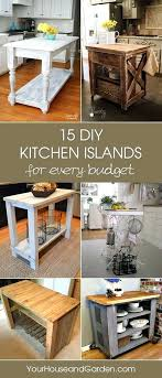 kitchen island ideas here you can find kitchen islands that you can build yourself without kitchen island ideas
