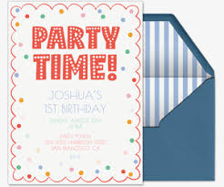 Birthday Invite Ecards Free Birthday Invitations Send Online Or By Text Evite