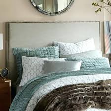 tall king headboard. Tall Headboards For King Beds Amazing Interior Upholstered Headboard West Elm Intended .