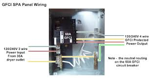 4 wire spa power wiring diagram 4 diy wiring diagrams 4 wire gfci hot tub nilza net