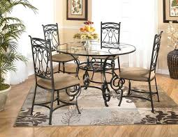 round glass breakfast table set glass dining table decor ideas table and estate decoration in round glass dining table decor miami black glass dining table