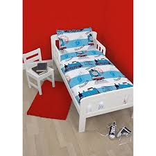 thomas the tank engine 4 piece toddler bed set