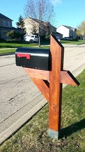 metal mailbox post designs. Unique Post 6x6 Mailbox Posts The Post Man Custom Wood  Plans   And Metal Mailbox Post Designs R