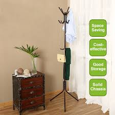 Coat And Hat Rack Stand Metal Coat Rack Free Standing Display Stand Hall Christmas Gift 58