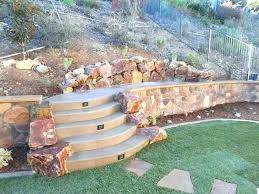 rock retaining wall garden inexpensive ideas exquisite design ravishing about australia