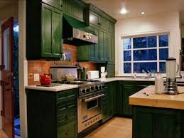 Olive Green Kitchen Cabinets Olive Green Distressed Kitchen Cabinets Quicuacom