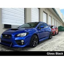subaru wrx 2015 black. crux motorsports 2015 2017 subaru wrx u0026 sti headlight black out wrx