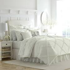 ruffle duvet white ruffle duvet cover set ruched duvet cover pottery barn