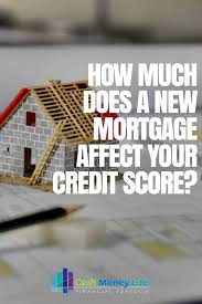 does a mortgage affect your credit score