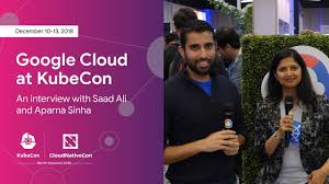 Interview With Aparna Sinha Kubecon 2018 Seattle