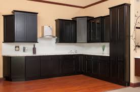 Rta Shaker Kitchen Cabinets Shaker Java Kitchen Cabinets Sample Door Rta All Wood In Stock
