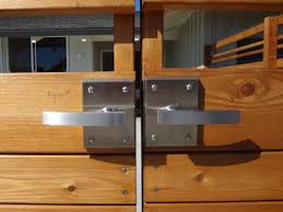 exterior gate lock. wood fence latch system exterior gate lock