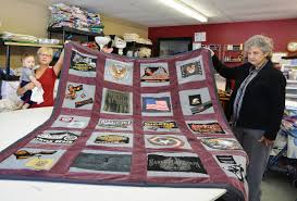 Sassy Stitchers use their skills to do God's work, donate quilts ... & They have made several motorcycle-themed quilts, some from Harley Davidson  T-shirts. Adamdwight.com