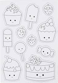 Bolcom Creotime Magnetische Kleurplaten Ijsjes En Cupcakes 15x21