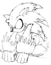 Sonic Characters Coloring Pages Sonic Coloring Pages Printable