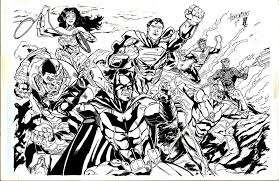 Small Picture Printable Pictures Justice League Unlimited Coloring Pages 95 In