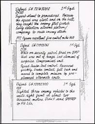 Example Of Comment Cards