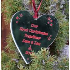 Personalized Wood Ornament  Our First Christmas Tree