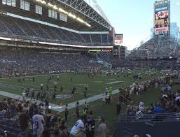 Seattle Seahawks Stadium Seating Chart Rows Centurylink Field Section 117 Seat Views Seatgeek