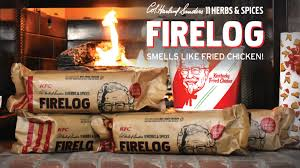 Your Entire House Will Smell Like KFC When You Buy This Firelog