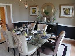 modern dining room color schemes. inspiration for a timeless light wood floor dining room remodel in dc metro with beige walls modern color schemes