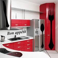 Kit 4 Stickers Cuisine Pas Cher