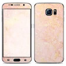 samsung galaxy s6 gold case. samsung galaxy s6 skin - rose gold marble case o