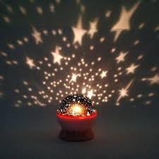 new rotation night lights lamps star sky projector romantic fairy led light master lamp baby app