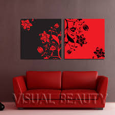 Easy paintings on canvas Acrylic Painting Free Shipping Beautiful Flowers Canvas Art Easy For Pictures Oil Painting Canvas Paintingunframed 50x50cmx2pcs Aliexpress Free Shipping Beautiful Flowers Canvas Art Easy For Pictures Oil