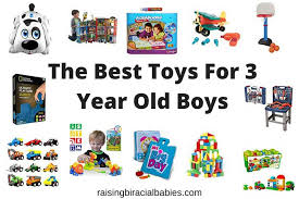 The Best Toys For 3 Year Old Boys-2018 Edition | Raising Biracial Babies
