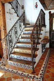 High Quality Dreamy Mexican Tile Stairway. Tile Would Look Beautiful On A Fireplace Too  | Things For My Home | Pinterest | Tiles, Tile Stairs And Decor