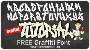 Graffiti Font Free Graffiti Alphabet Font Free Download