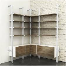 contemporary corner shelf unit corners storage solutions