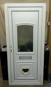 Door Design ~ Door With Cat Flap Medium Dog Electronic Pet In Glass ...