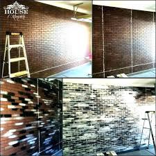 faux brick wall covering faux brick wall covering home depot
